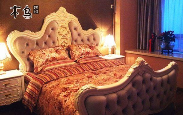 比邻武昌文化宫浪漫欧式大床房