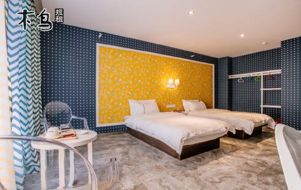 昆明云格调酒店 个性特色双床房 近前卫西街
