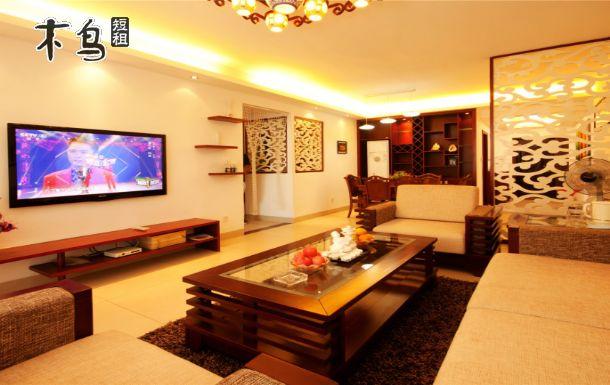 三亚大东海花园小区精装三房两厅可住7人