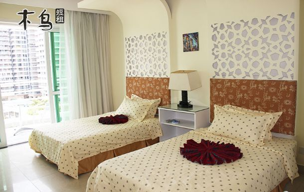 瑞海豪庭小区大东海为数不多的海景双标公寓