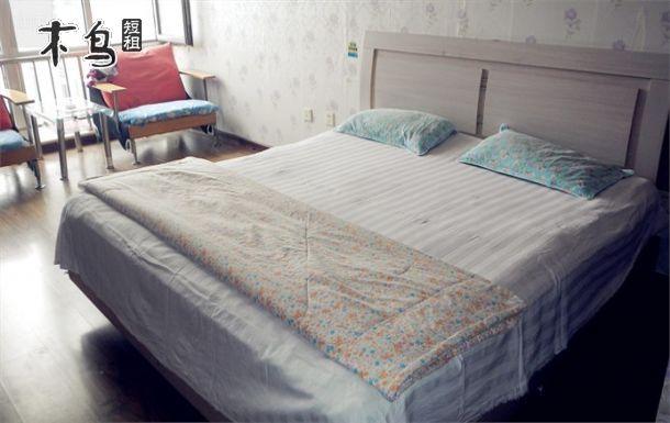 天津中山门景悦公寓附近 居家大床房