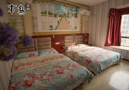 武汉站 欢乐谷 武汉科技大学 主题双床房