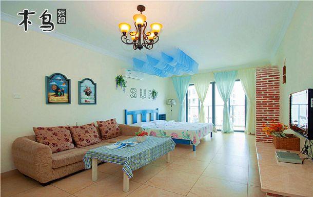 三亚摩卡时光海景公馆-三亚湾附近豪华海景一房一厅