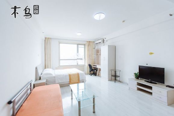 北欧假日温馨之家公寓(50平豪华商务大床房)