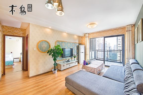 成都金沙馨家公寓田园两室一厅