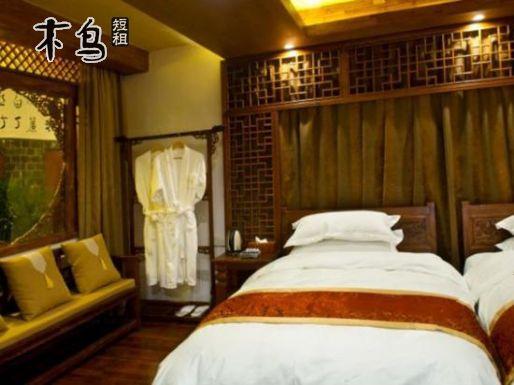 丽江 古城区凡途 近祥和路 烟树豪华标准双床房