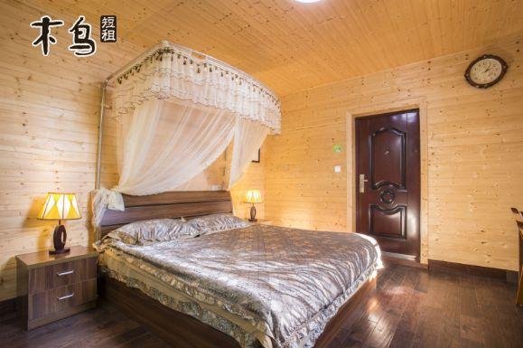 滴水湖附近的乡村别墅 温馨大床房