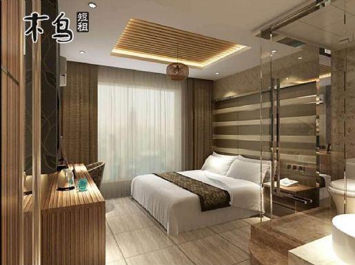浦建路锦绣路酒店式公寓 温馨大床房