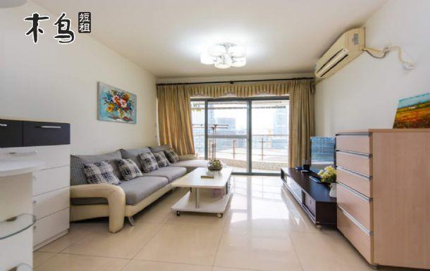 深圳湾口岸奢华三房两厅豪华套房