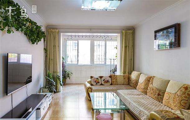 北戴河近海3居室家庭公寓可自己做饭有wifi
