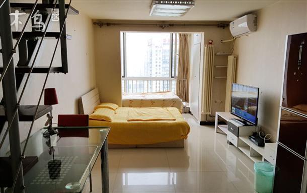 北京西站协医院西单复兴门军博复式loft公寓