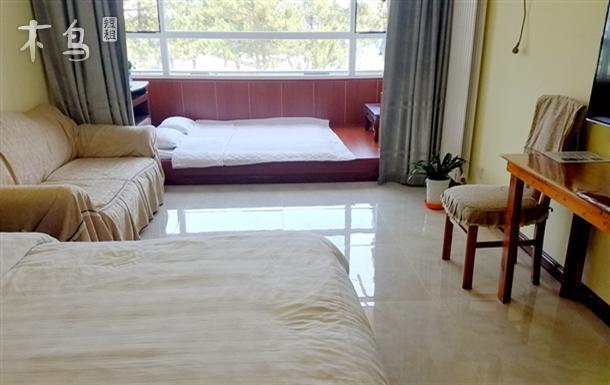 一线海景情侣大床公寓