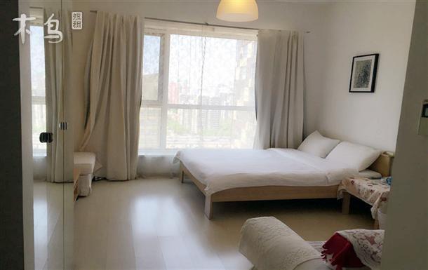 国贸附近大成国际一居室大床房
