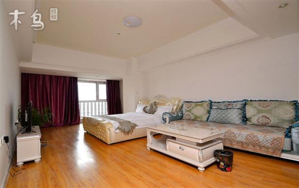 哈西万达公寓 欧式主题大床房短租日租