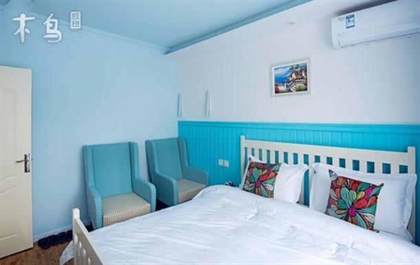 成都宽窄巷子 卷舒堂 印象蔚蓝 两居室