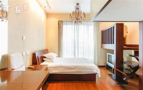 上海中山公园附近复式双床房日租短租