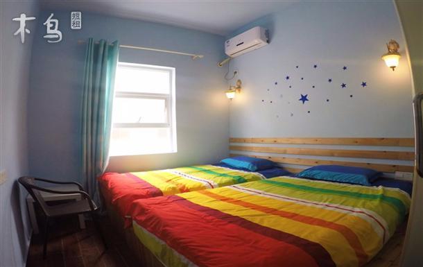 深圳官湖海边 温馨舒适双床房