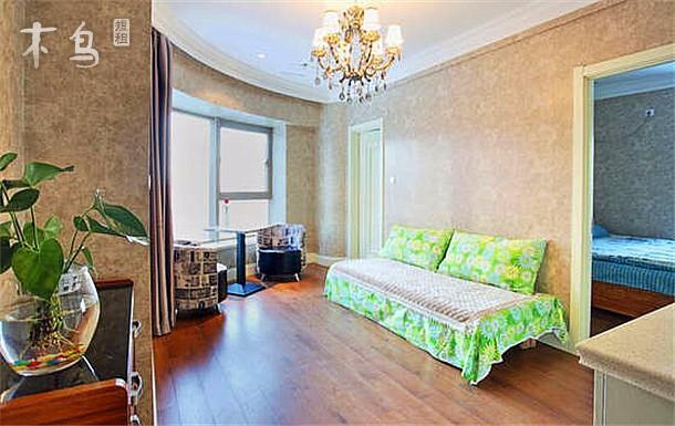 哈尔滨道里区精品公寓优雅一居室