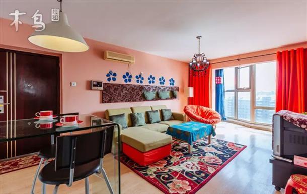 中科院 森林公园旁 舒适宽敞 温馨一居室