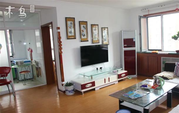 青岛金沙滩 忠信公寓3居室