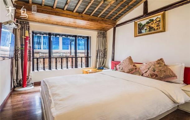 朱家角度假区附近 街景大床房