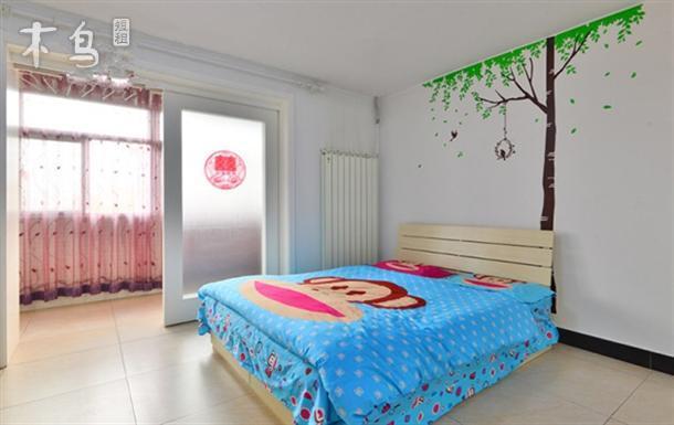 石景山苹果园温馨两居室