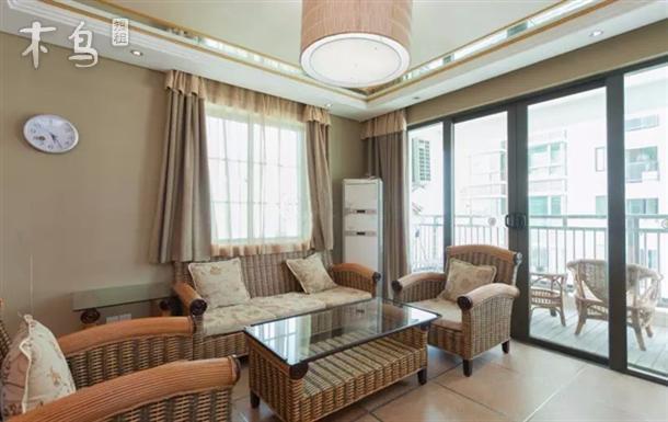 三亚湾椰梦长廊新浪公馆超豪华海景3房2厅