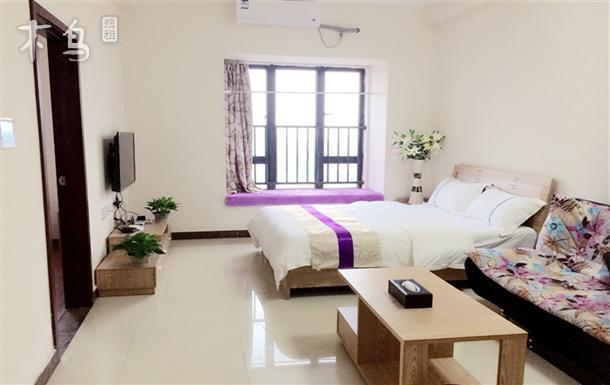 琶洲会展米岚公寓温馨一房一厅双床套房
