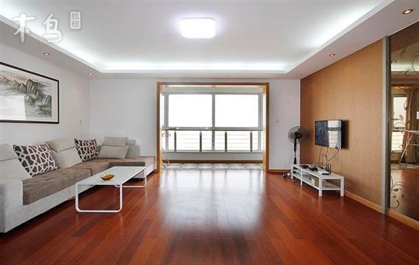 威海海水浴场金海滩高层海景房可做饭两室一厅