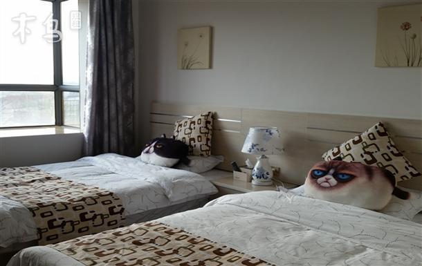 超近昆明长水机场免费接送温馨双床房