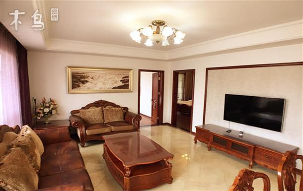 青岛绿城御园法式洋房公寓GreenInn两居两卫高档社区近世园会李村商圈