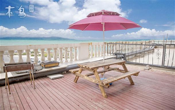 海水浴场 一线海景三室两厅 带观海露台