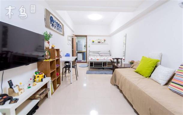 广州荔湾地铁旁安全花园小区独立公寓可做饭