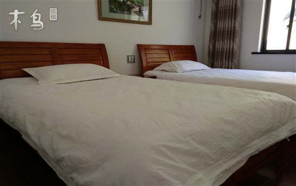 千岛湖附近 左口乡桥西村 民居标准间 双床房