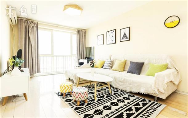 【逅客】国贸CBD 近地铁 阳光舒适两居室(可长租)