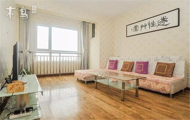青岛金沙滩海风情公寓 2居室