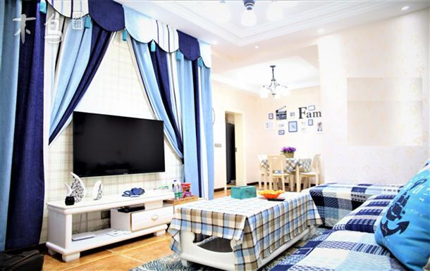 国能天街 蓝色海洋主题精品两居室
