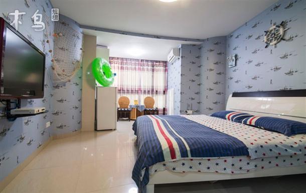 豪华海景大床房-三亚湾海月广场