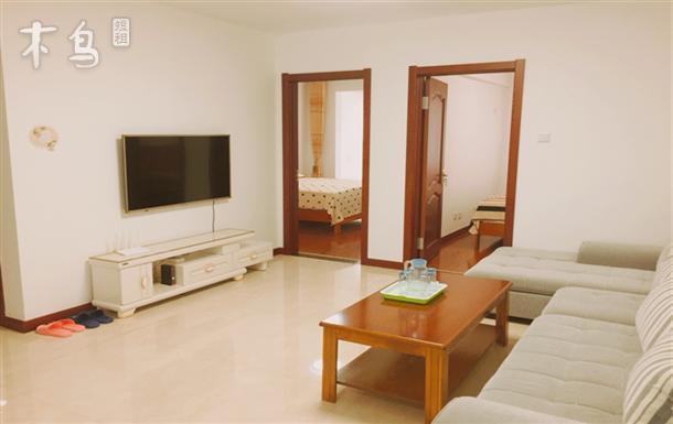 半月湾海水浴场附近温馨两室一厅