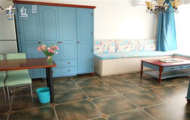 松紧 大海 国际海水浴场两室一厅 能做饭 步行五分钟