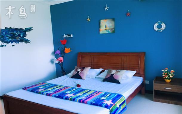 三亚湾椰梦长廊超大海景两居室
