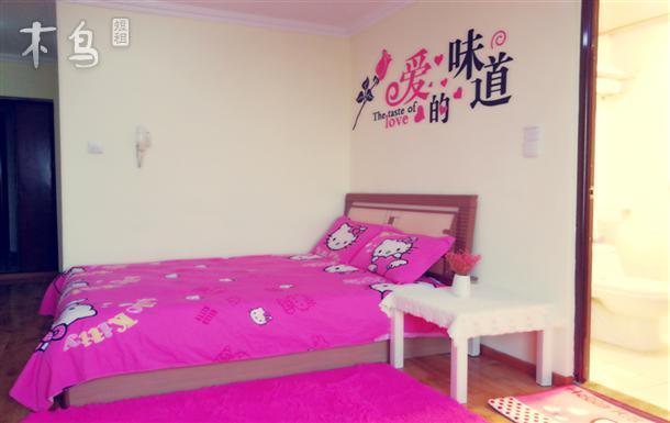望京机场 798soho 大床房 拎包入住