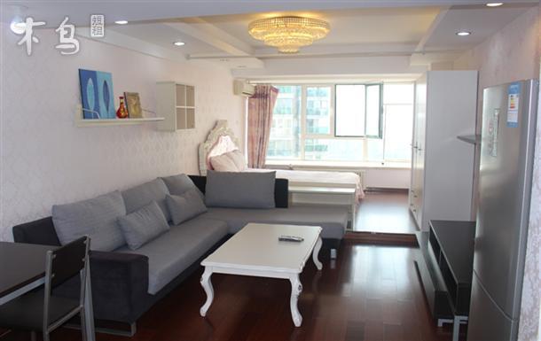 曼哈顿广场舒适精装全套大床房