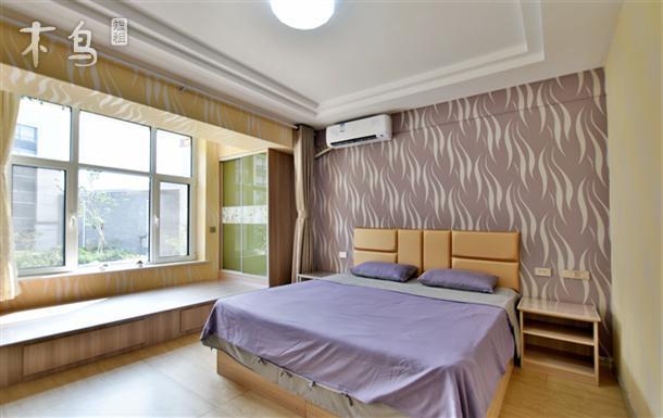 蓬莱海上仙街爱尚临海公寓大床房