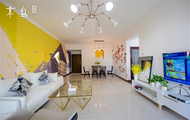 瞭望琶洲国际交易中心北欧现代3房2卫公寓