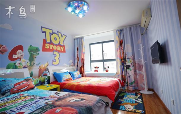 [免费接送,可做饭]玩具总动员迪士尼两室两厅