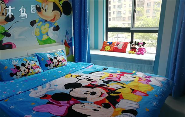 迪士尼旁动漫米奇豪华亲亲子套房