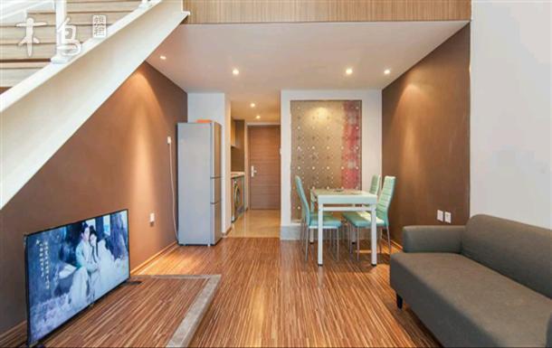 海河外滩旁 精装复式 Loft一室一厅