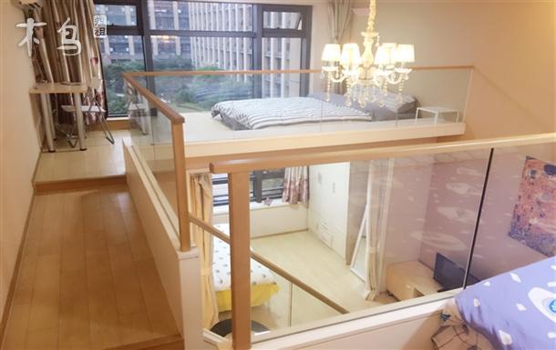 银泰旁西溪旁精装loft可住6人3床