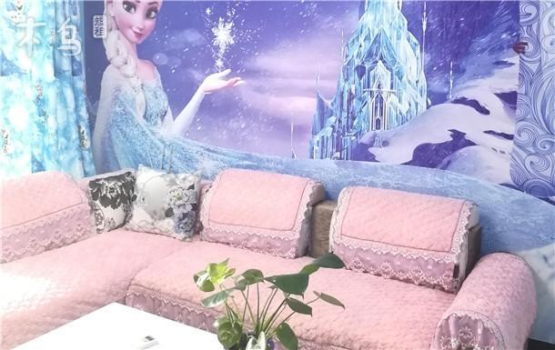 迪士尼旁冰雪奇缘亲子套房